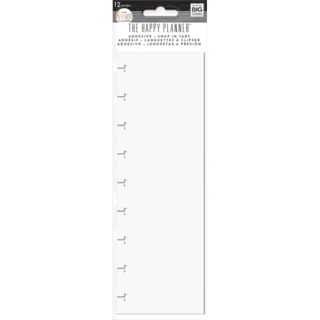 Happy Planner Medium Adhesive Snap-In Tabs - RSTL-02