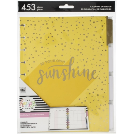 Happy Planner Undated Medium Planner Extension Pack Sunshine