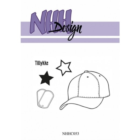 NHH Design Clearstamp - Cap - NHHC053