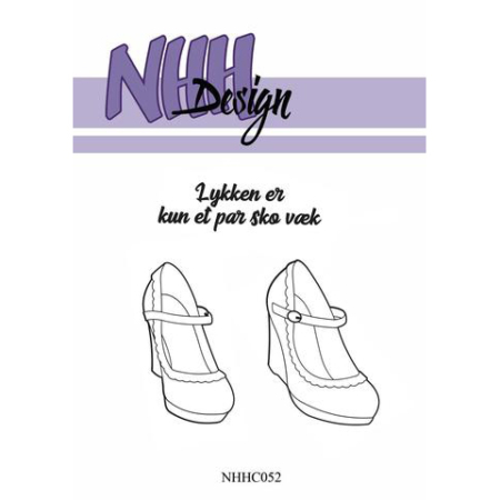 NHH Design Clearstamp - Shoes - NHHC052