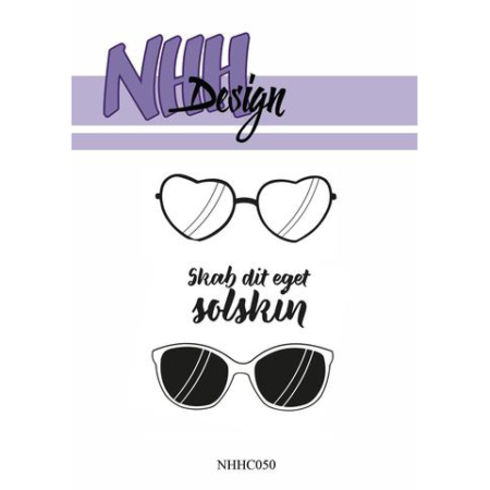 NHH Design Clearstamp - Sunglasses - NHHC050