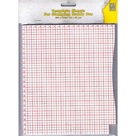 Nellie Snellen Paper Template Sheets for Stamping Buddy Pro