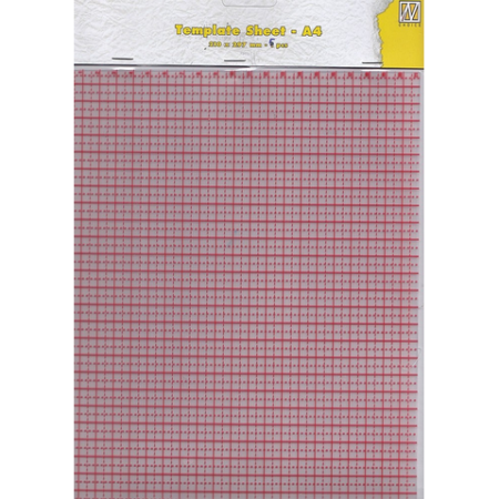Nellie Snellen Plastic Template Sheets for Stamping Buddy Pro