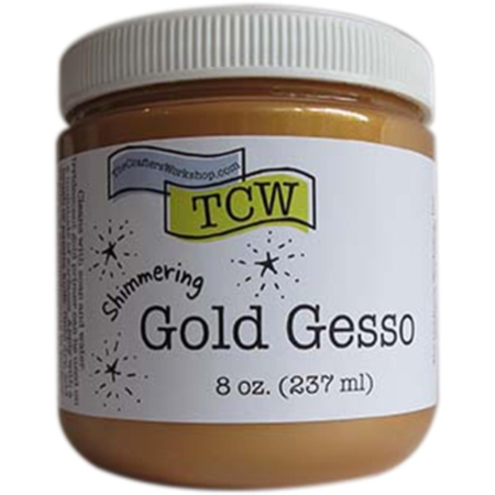 TCW Crafter's Workshop Gesso - GOLD - TCW9003