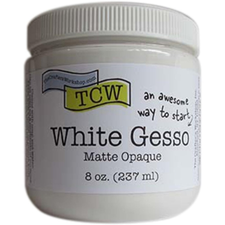 TCW Crafter's Workshop Gesso - WHITE - TCWG9001