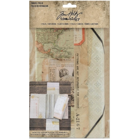 Tim Holtz Idea Ology - Travel Folio - TH94032