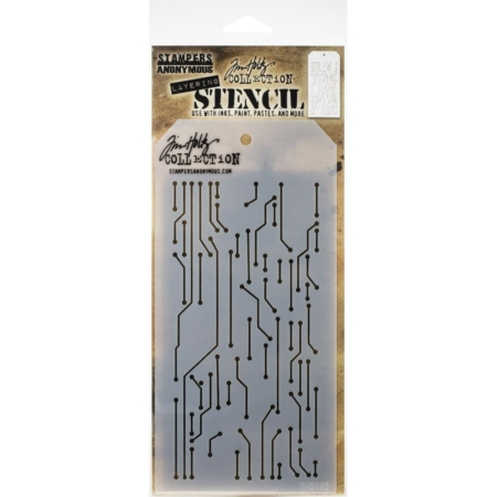 Tim Holtz - Layered Stencil - Circuit - Layered - THS146