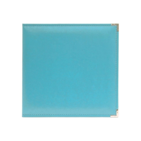 We R Memory Keepers - Faux leather album - Aqua