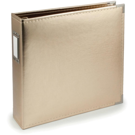 We R Memory Keepers - Faux leather album - Gold