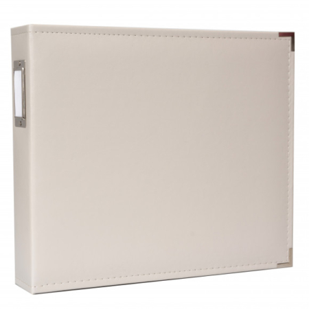We R Memory Keepers - Faux leather album - Greige