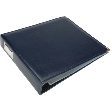 We R Memory Keepers - Faux leather album - Navy