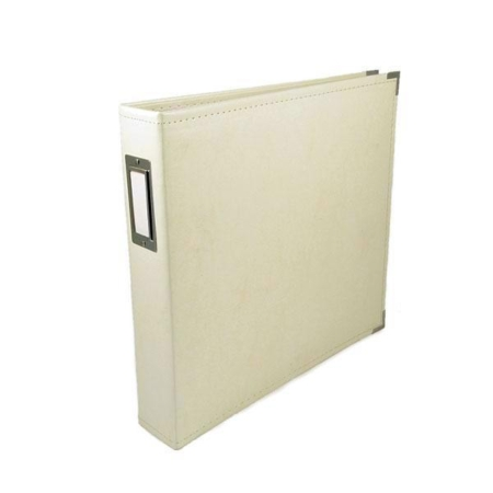 We R Memory Keepers - Faux leather album - Vanilla