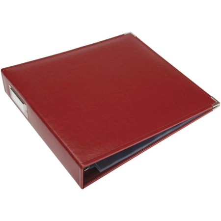 We R Memory Keepers - Faux leather album - Wine