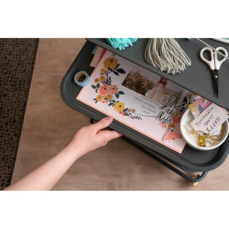 We R Memory Keepers - Project Cart With Removable Trays