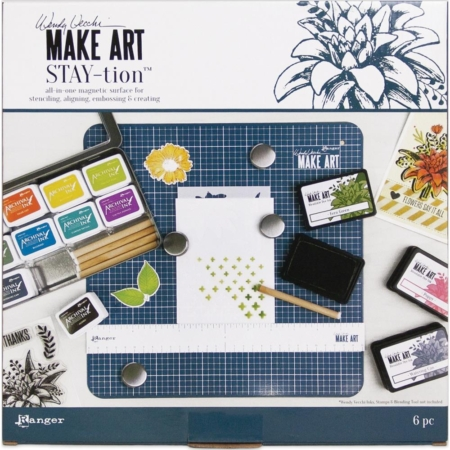 Wendy Vecchi MAKE ART Stay-tion - All-In-One Magnetic Surface