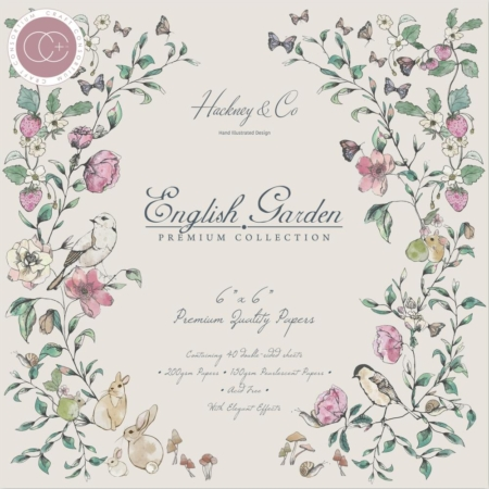 "Craft Consortium Paper Pad 6x6"" - English Garden - CCPPAD003B"
