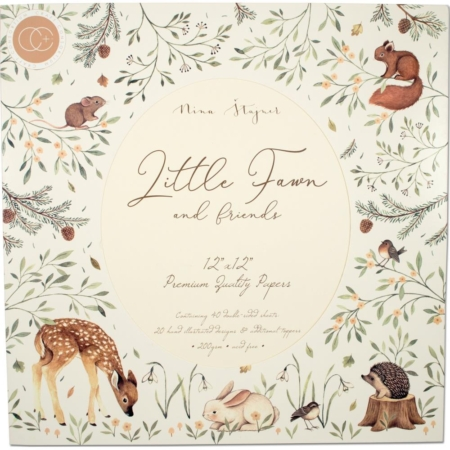 Craft Consortium - Little Fawn & Friends - CCPPAD008