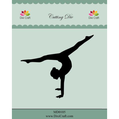 Dixi Craft Dies - Gymnast - MD0105