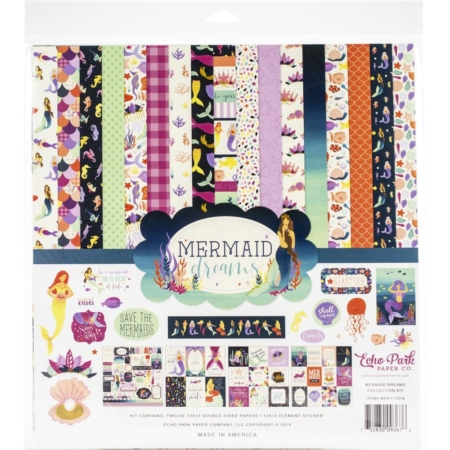 Echo Park Collection kit - Mermaid Dreams - MDR175016
