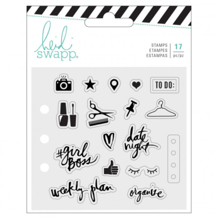 Heidi Swapp - Memory planner clear stamps Everyday - 313957