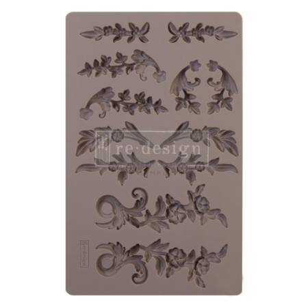 Prima Finnabair Decor Moulds Delicate Flora
