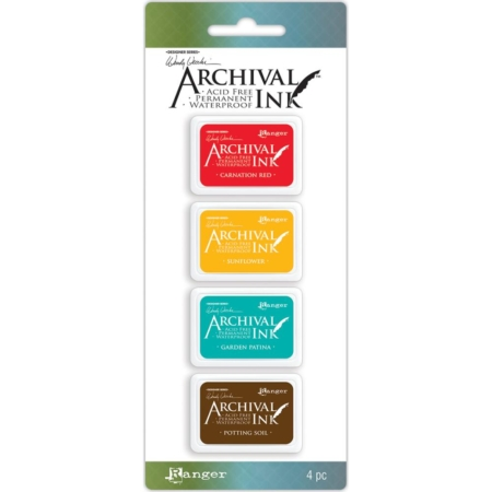 RANGER Wendy Vecchi Mini Archival Ink Pads Set #1