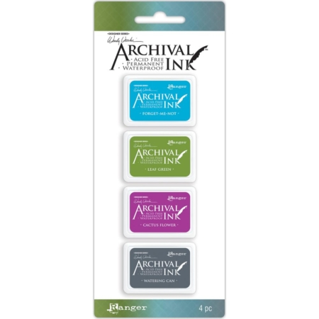RANGER Wendy Vecchi Mini Archival Ink Pads Set #2