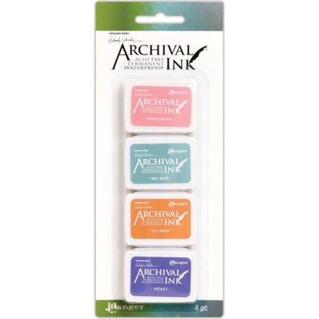 RANGER Wendy Vecchi Mini Archival Ink Pads Set #3