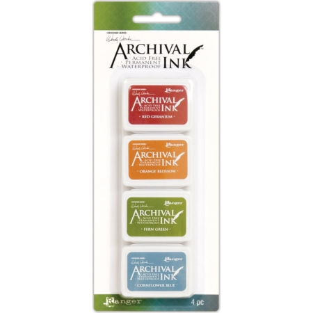 RANGER Wendy Vecchi Mini Archival Ink Pads Set #4