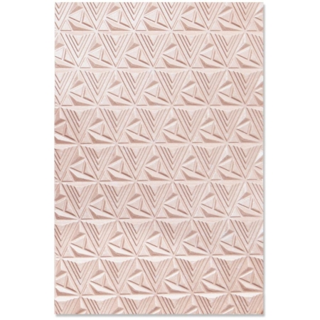 SIZZIX 3D - Embossingfolder - Geometric Lattice - 664425