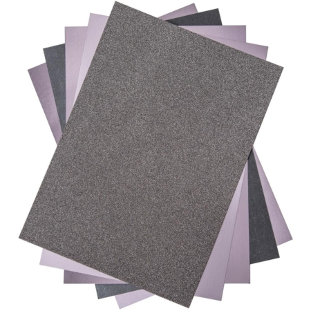 Sizzix - Opulent Cardstock Pack - Charcoal - 664536