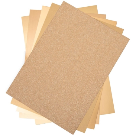 Sizzix - Opulent Cardstock Pack - Gold - 664532