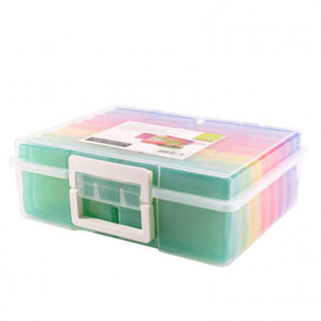 Vaessen Creative – Craft & Photo Translucent Plastic Storage