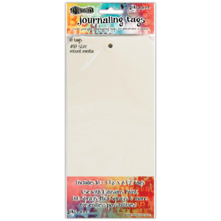 Dyan Reaveley's Dylusions Journal Tags - DYA47292