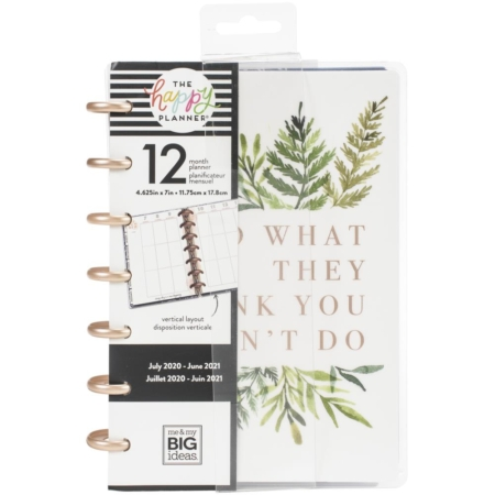 Happy Planner Dated Mini Planner Do What They Think PLNM-230