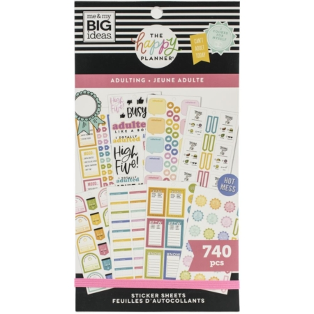 Happy Planner Sticker - Adulting - PPSV-191