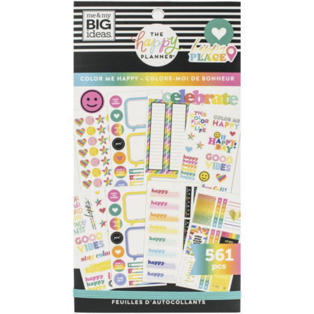 Happy Planner Sticker - Color Me Happy - PPSV-194