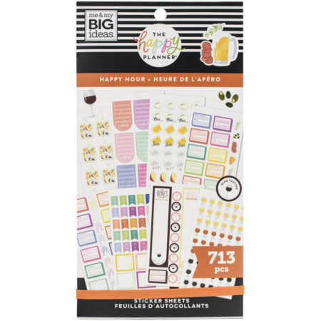 Happy Planner Sticker - Happy Hour - PPSV-196