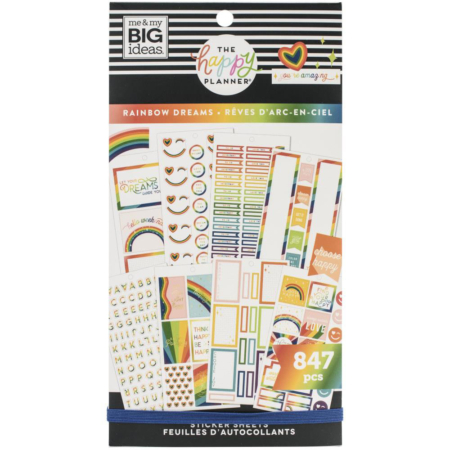 Happy Planner Sticker - Rainbow Dreams - PPSV-198