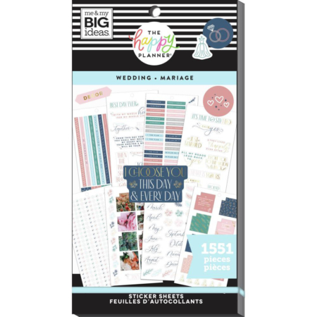 Happy Planner Sticker - Wedding - PPSV-185