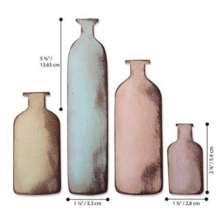 Sizzix Bigz - Tim Holtz - Bottled Up- 664408