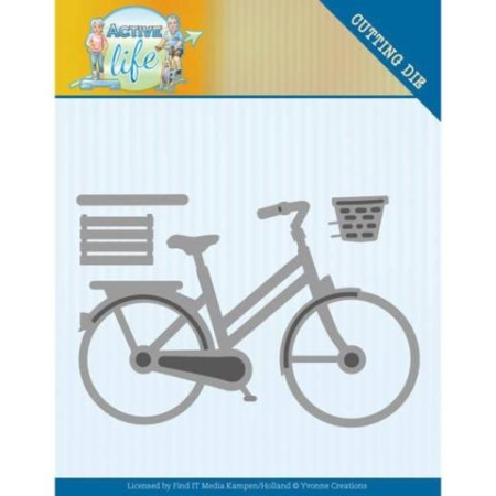 Yvonne Design Dies - Bicycle - YCD10195