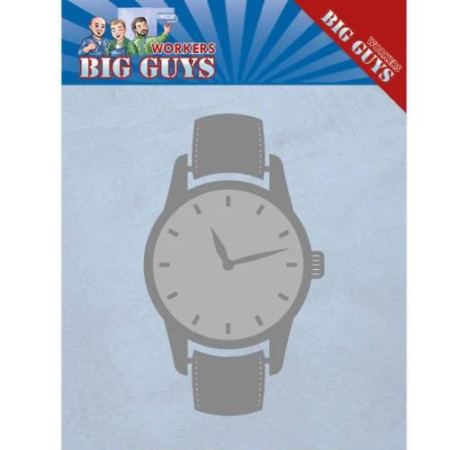 Yvonne Design Dies - Big Guys Workers - Watch - YCD10206