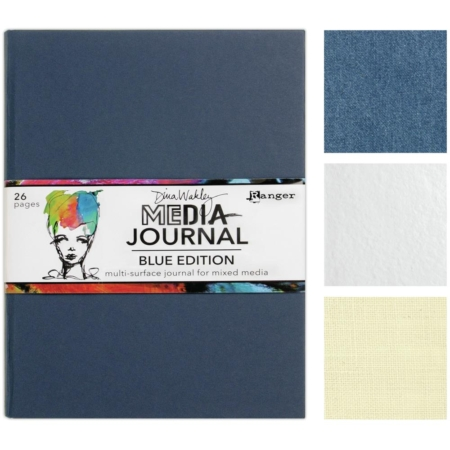 Ranger Dina Wakley Blue Edition Media Journal - MDJ69171