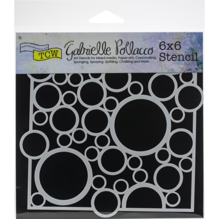 Crafter's Workshop Template - Bubble Rebound - TCW926s
