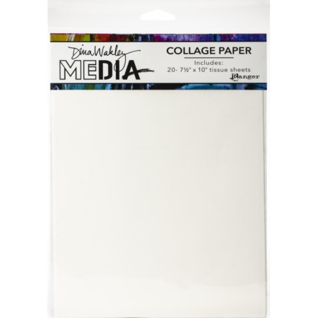Dina Wakley Media Collage Tissue Paper - Plain - MDA68204
