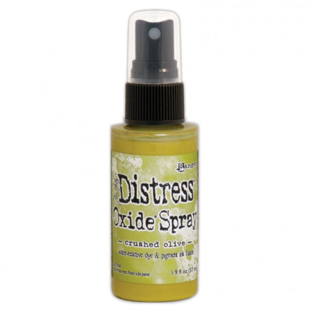 Distress Oxide Spray - Crushed Olive - TSO67641
