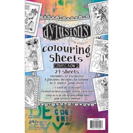 Dylusions - Dyan Reaveley's Coloring Sheets #2 - DYA53903