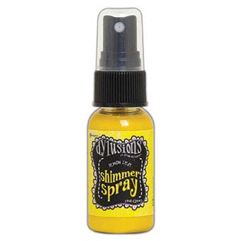 Dylusions Shimmer Spray - Lemon Zest - DYH68372