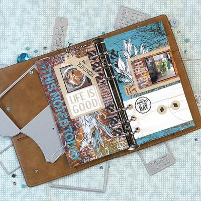 Elizabeth Craft Designs Dies Planner Sidekick Essentials 8 - 1772